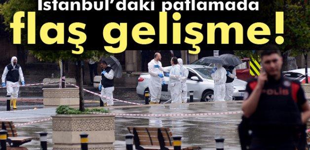 İstanbul'daki patlamayla ilgili flaş gelişme