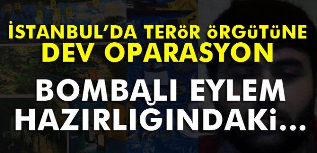 İstanbul'da bombalı eylem hazırlığındaki örgüt üyesi yakalandı