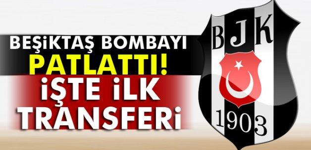 İşte Beşiktaş'ın ilk transferi