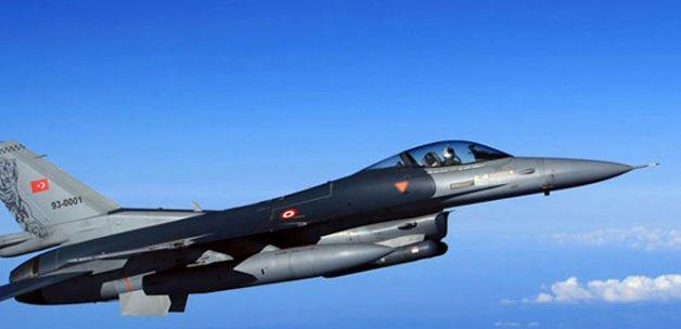 Jetler PKK'nın inlerini dağıttı