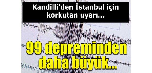 Kandilli'den İstanbul'da 7 büyüklüğünde deprem uyarısı