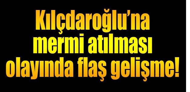 Kılıçdaroğlu'na mermi atanlar gözaltına alındı.