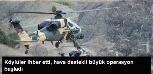 Köylülerin İhbarı Üzerine Muş'ta Terör Operasyonu Yapıldı