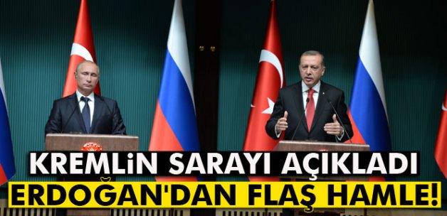 Kremlin: 'Erdoğan düşürülen uçakla ilgili üzüntülerini bildirdi'