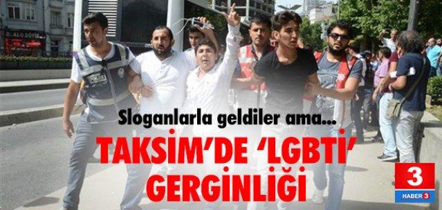 LGBTİ yürüyüşüne tepki eylemi !