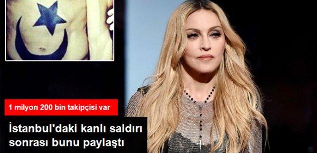 Madonna, İstanbul'daki Kanlı Saldırıya Duyarsı Kalmadı