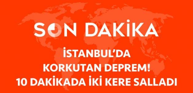 Marmara Denizi'nde Deprem! 10 Dakika Arayla İki Kere Salladı