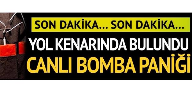 Mersin'de canlı bomba yeleği alarmı