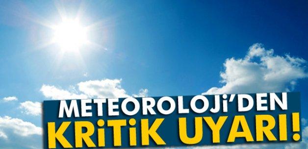Meteoroloji yükselen sıcak havalara karşı uyardı