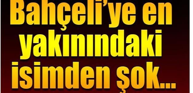 MHP MYK Üyesi Özcan Pehlivanoğlu'nadn şok çıkış
