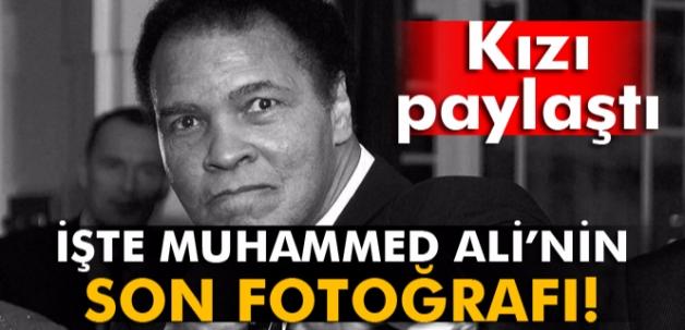 Muhammed Ali'nin son fotoğrafı