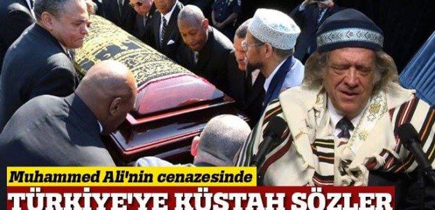 Muhammed Ali'nin cenazesinde Haham'dan Türkiye'ye küstah sözler