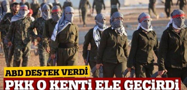 Münbiç, ABD'nin desteği ile PKK'ya geçti
