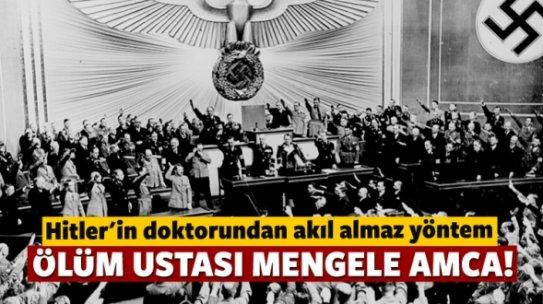Ölüm ustası Mengele amca