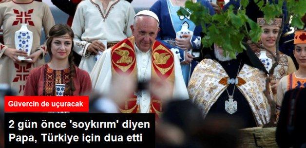 Papa'dan, Türkiye ve Ermenistan Duası