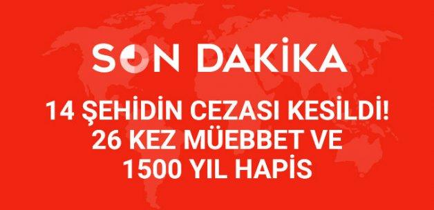 PKK'nın 'Amanos Cellatlarına' 26 Kez Müebbet ve 1500 Yıl Hapis Cezası!