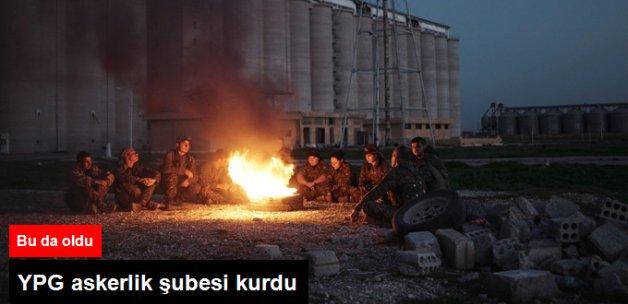 PKK'nın Suriye Kolu YPG Askerlik Şubesi Kurdu