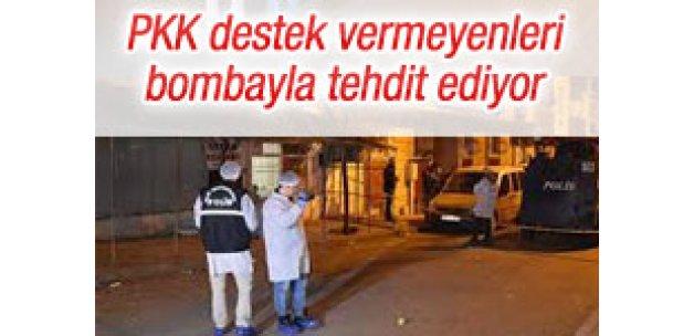 PKK yandaşları, örgüte destek vermeyenleri tehdit ediyor