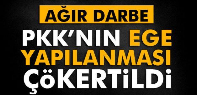 PKK'nın Ege yapılanması çökertildi