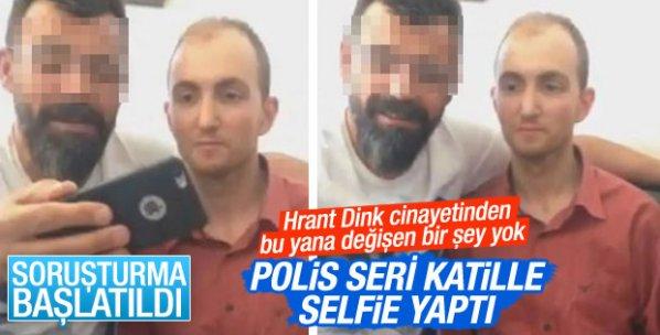 Polis seri katil Atalay Filiz'le selfie yaptı