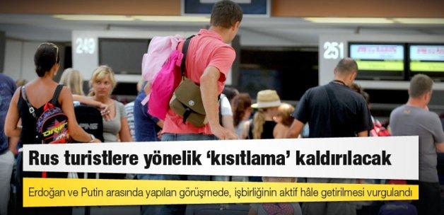 Rus turistlerin Türkiye seyahatine yönelik yapılan kısıtlama kaldırılacak