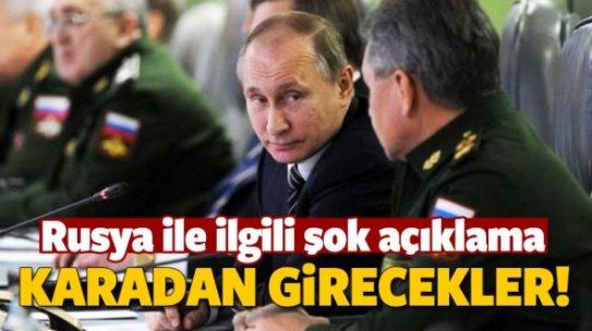 """""""Rusya Suriye'ye kara gücü gönderebilir"""""""