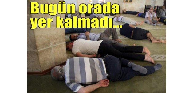 Şanlıurfada camilerde 'Ramazan uykusu