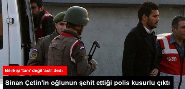 Sinan Çetin'in Oğlu Rüzgar Çetin'in Çarptığı Polisler Kusurlu Bulundu