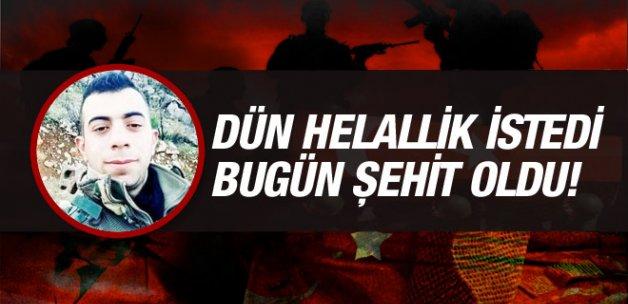 Şırnak'ta askere hain saldırı şehit ve yaralılar var