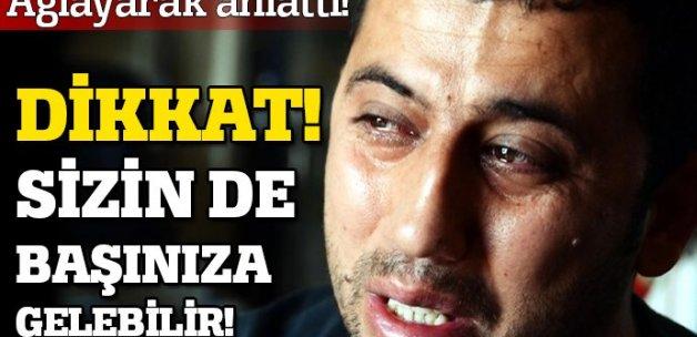 Telefon dolandırıcısına 50 bin lira kaptırdı, intihara kalkıştı