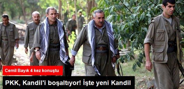Terör Örgütü PKK Kandil'i Boşaltıyor