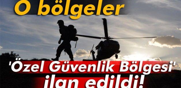 Tunceli'de 20 alan özel güvenlik bölgesi ilan edildi