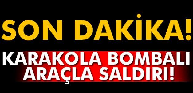 Tunceli'de karakola bombalı araçla saldırı