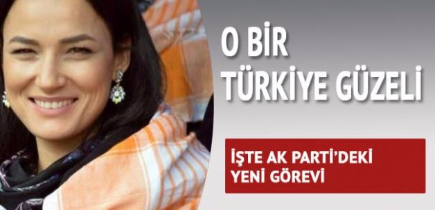 Türkiye güzeli AK Parti Kadın Kolları İl Başkanı oldu