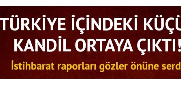 Türkiye içindeki küçük Kandil ortaya çıktı
