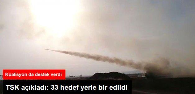 Türkiye'ye Atış Hazırlığı'ndaki IŞİD Hedefleri, İmha Edildi