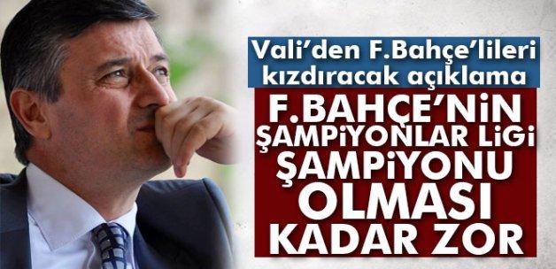 Validen tartışma çıkartacak 'Fenerbahçe' açıklaması