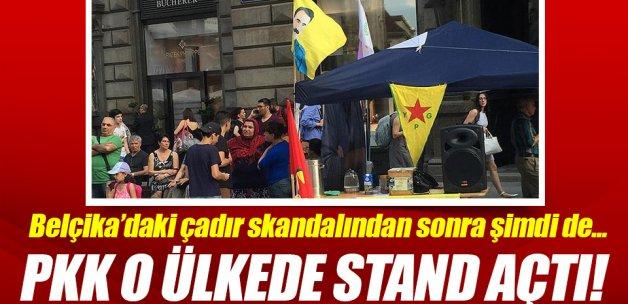 Viyana'da PKK standı açıldı!