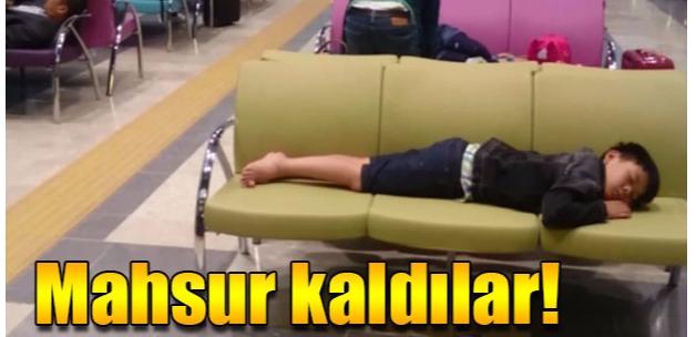 Vizesiz yabancı yolcular Tekirdağ'da mahsur kaldı