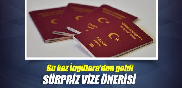 Yeşil pasaportlu Türkler için İngiltere'ye vizesiz giriş teklifi