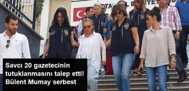 20 Gazeteci Tutuklanma İstemiyle Mahkemeye Sevk Edildi