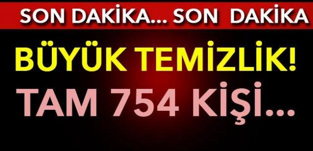 754 TSK mensubu gözaltına alındı