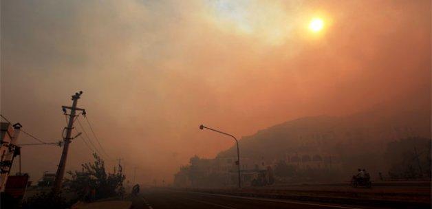 9 saate 50 hektarlık alan kül oldu