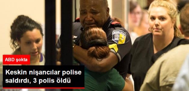 ABD'de Keskin Nişancılar Polise Silahlı Saldırdı: 3 Ölü