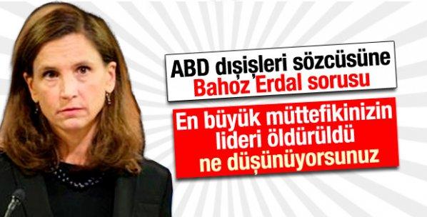 ABD'den Bahoz Erdal açıklaması