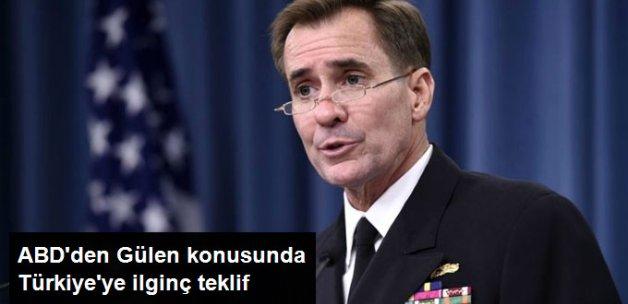 ABD, Gülen'in İadesi İçin Ekip Göndermeyi Teklif Etti