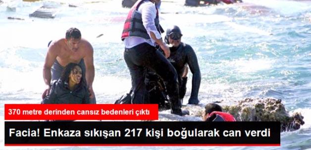 Akdeniz'de Batan Teknenin Enkazından 217 Ceset Çıkarıldı