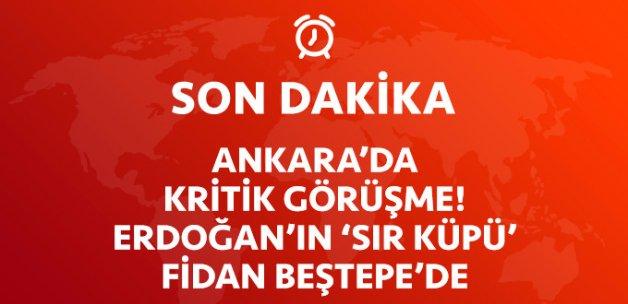 Ankara'da Olağanüstü 'Olağan' Görüşme! Hakan Fidan Beştepe'de