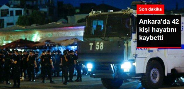 Ankara'daki Saldırılarda 42 Kişi Hayatını Kaybetti