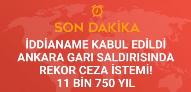 Ankara Garı Önünde 102 Kişinin Öldüğü Terör Saldırısı İddianamesi Kabul Edildi